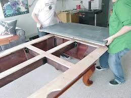 Pool table moves in Memphis Tennessee