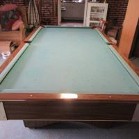 C.C. Steepleton Co. Pool Table