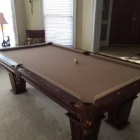 8ft Slate Pool Table Like New