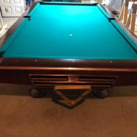 Gold Crown IV 9' Billard Table