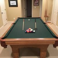 C.L. Bailey Pool Table