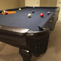 8ft Slat Pool Table