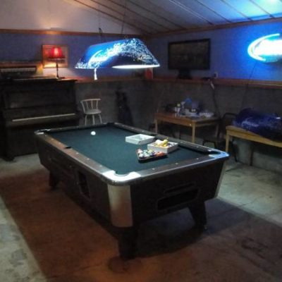 Valley Pool Table and Accessories