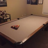 1889 Brunswick Full Size Pool Table