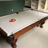 Elegant Pool Table For Sale