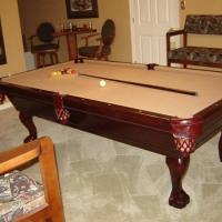 Pool Table & Harley Furniture
