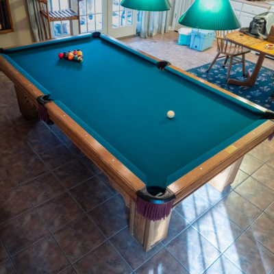 8 Foot Gandy Table For Sale